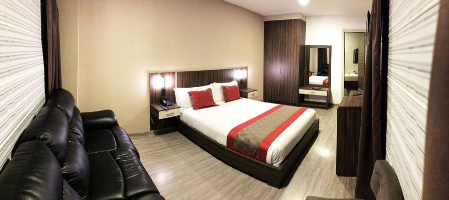 Habitación Doble Standar Hotel Santiago de Compostella