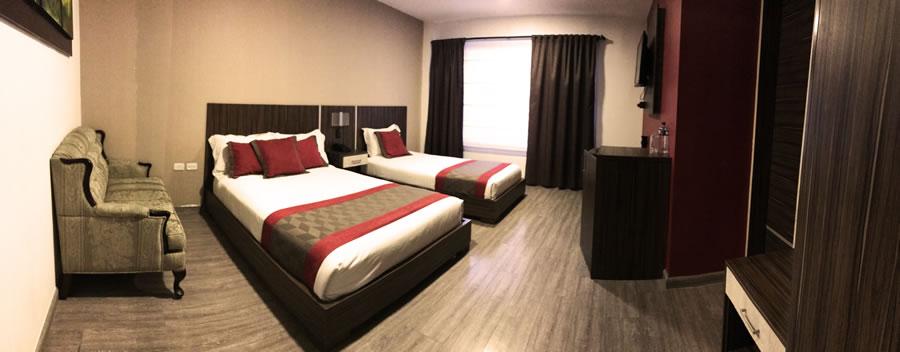 Habitación Doble Twin Hotel Santiago de Compostella