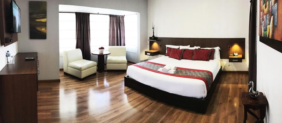 Habitación Doble Queen Hotel Santiago de Compostella